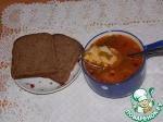 Постный горохово-томатный суп