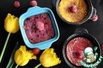 Творожное суфле с фруктами и ягодами