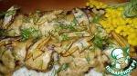 Куриные тефтели на рисовой подушке
