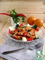 Салат с курицей «Весеннее настроение»