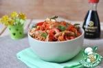 Салат из куриного филе с морковью по-корейски