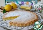 Песочный пирог с лимонным кремом