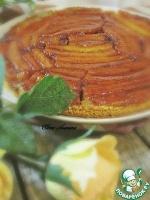 Постный бананово-карамельный пирог