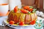 Морковный постный кекс