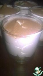 Банановый крем с шоколадом