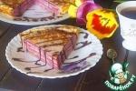 Блинный пирог с малиновой прослойкой
