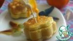 Оладьи с апельсиновой начинкой