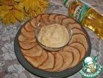 Кокосовые оладьи с творожно-цитрусовым кремом