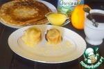 """Блинчики """"Солнечные"""" с апельсиново-лимонным соусом"""