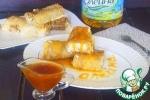 Блинчики под сливочным и апельсиновым соусами
