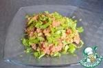 Гречка с сыром сулугуни и помидорами