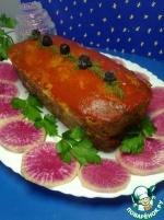 Чечевично-мясной хлеб