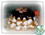 Бисквитный морковно-творожный десерт