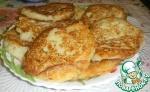 Оладьи с рисом и луком
