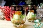 """Закуска """"Яйцо в Новогоднем азиатском гламуре"""""""
