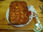 Мясная тарталья на картофельном тесте с брокколи