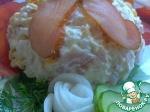 Салат из цветной капусты с балыком