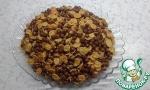 Десерт с ирисками