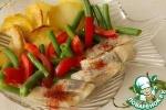 Салат из сельди с постной заправкой