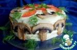 """Бутербродный торт """"Для мужчин"""""""