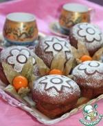 Имбирные пончики с кофейной глазурью