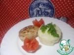 Зразы из индейки с рисом и яйцом