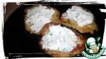 Кабачковые оладьи с творожно-чесночным кремом