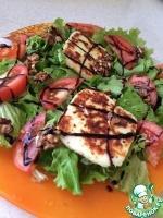 Быстрый испанский салат