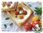 Мини тарты с рикоттой и помидорками