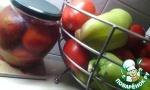 Помидоры в яблочном соку