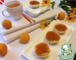 Мини-чизкейки с абрикосовой глазурью