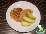Оладьи из рисовой муки с яблоком