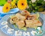Пирожки из блинчиков в кляре