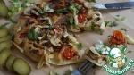 Блинчик с припеком по мотивам пиццы