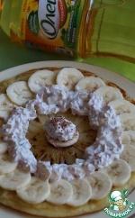 Банановые блинчики с ананасами