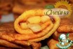 Тыквенные блины с яблочно-карамельной начинкой