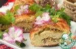 Пирог рыбно-оливковый