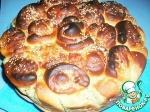 Пирог с сырно-ореховой начинкой