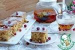 Пирог с овсянкой и сушеной клюквой