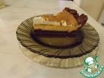 Трехслойный творожный пирог