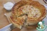 Пирог с фаршем и сыром