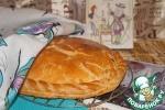 Пирог с курицей по-французски