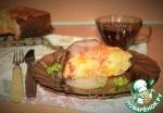 Влажный нектариновый пирог с кислой глазурью