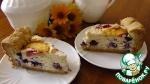 Пирог с голубикой и нектарином