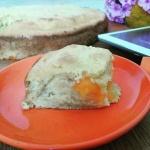 Простой пирог из абрикосов