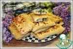 Пирожки из тонкого теста с рисом и зеленью