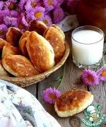 Жареные пирожки с ливером и картошкой