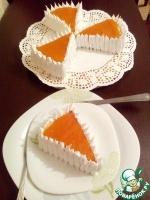 """Песочное пирожное """"Бермудский треугольник"""""""