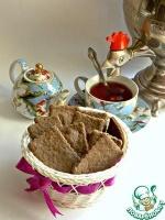 Постное ржаное печенье