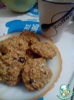 Овсяное печенье полезно-диетическое